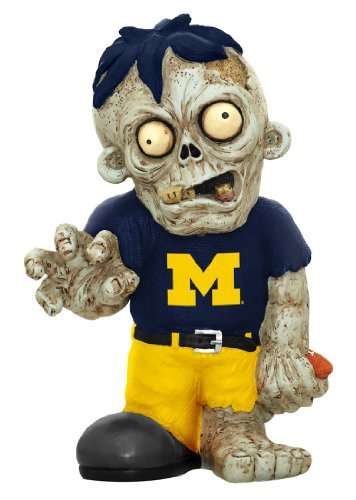 Ncaa Figurine (NCAA Michigan Wolverines Pro Team Zombie Figurine)