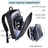 Smatree Semi-Hard and Light Laptop Backpack Fits