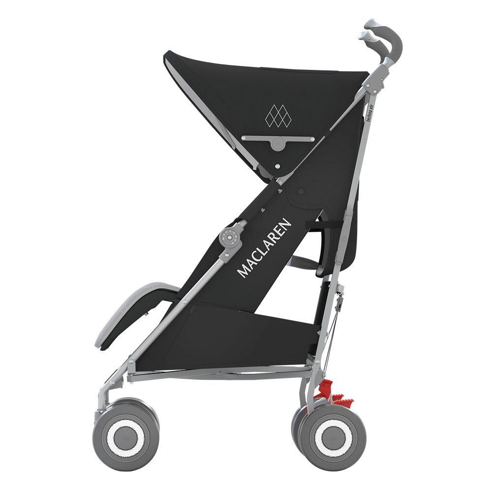 Amazon.com: Maclaren wm1y150092 Techno XLR, Black/Silver: Baby