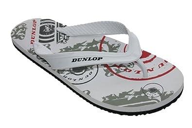 ab75a038b Dunlop Mens Boys Flip Flop Sandal Holiday Beach Pool Toe Post Shoes Size 6  - 11