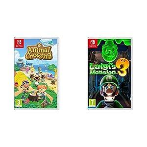 Animal Crossing New Horizons – Nintendo Switch Standard Edition & Luigi's Mansion 3 Standard Edition – Nintendo Switch