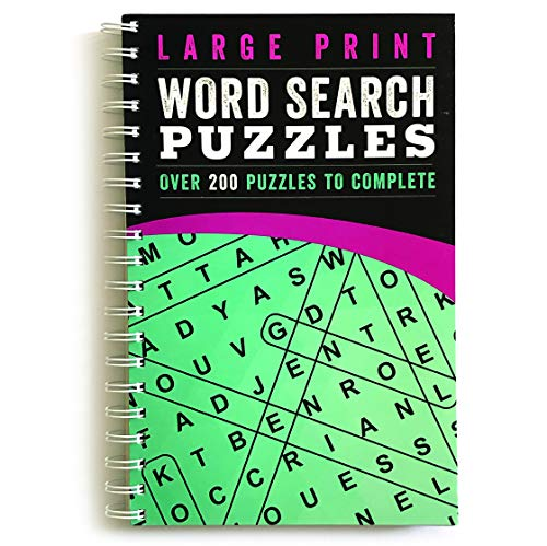 Large Print Word Search Puzzles: Over 200 Puzzles to Complete ()