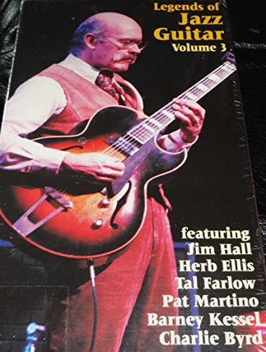 Legends of Jazz Guitar Volume Three [VHS] Barney Kessel Jazz Guitar