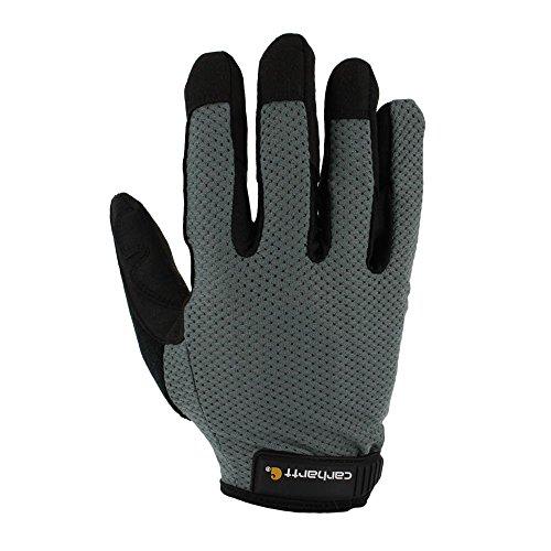 Carhartt Men's Ventilated Glove, Grey/Black, Medium