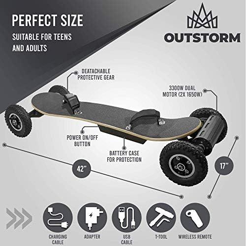 Amazon.com: Outstorm - Monopatín eléctrico de 31 mph para ...