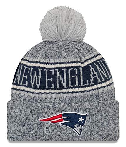 工業用解決人工ニューエラ (New Era) NFL サイドライン Reserve ビーニー帽 ニューイングランド?ペイトリオッツ (New England Patriots)