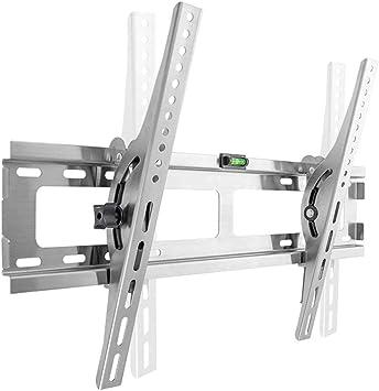 Soporte De TV para Pared - Acero Inoxidable para Televisores De Pantalla Plana LCD Y Plasma LED De 32-75
