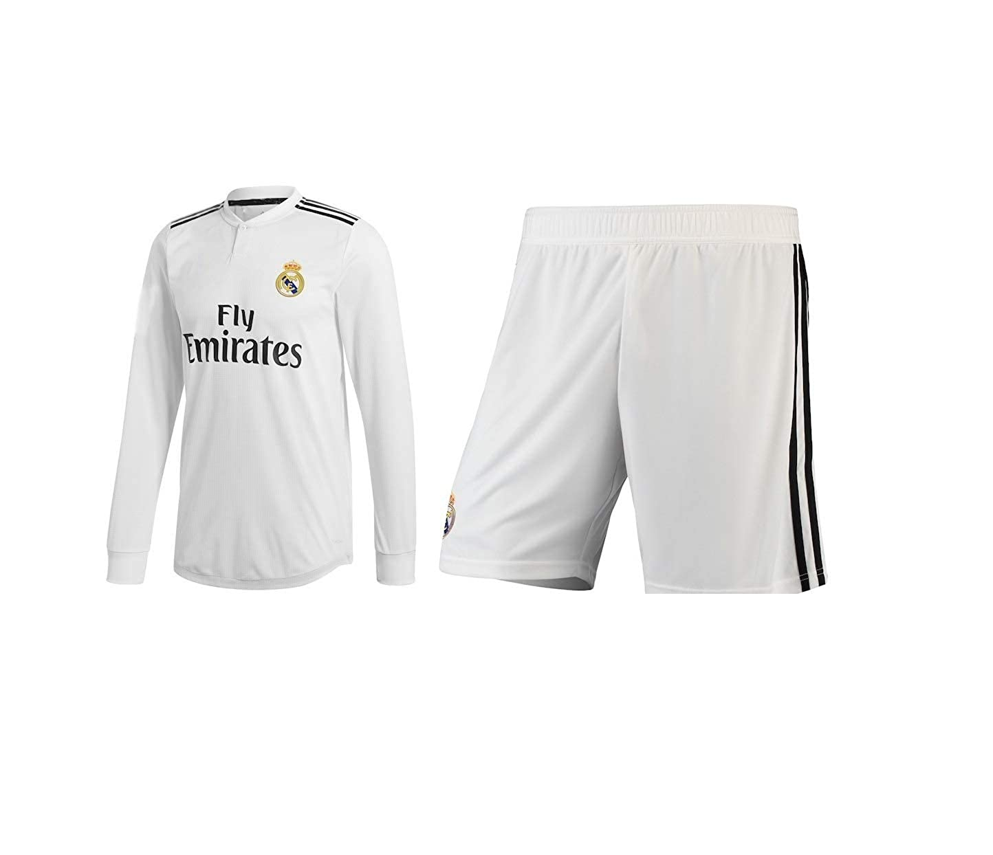 90661e5b78e NAVEX RAL Madrid Full Sleeve Jersey FIFA 2018-19 (Large)  Amazon.in   Clothing   Accessories
