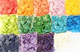 210 Sets 14-Color Lead-Tested KAMsnaps Size 20 T5 KAM Snap Plastic Fasteners Punch Poppers Closures No-Sew Buttons for Cloth Diaper/Bibs/Unpaper Towels/Nappies/Buttons/Mama Pads
