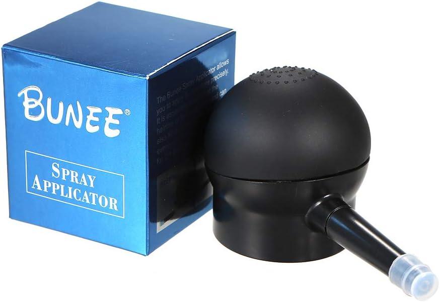 Anself Bomba de Boquilla Profesional para Fibras Naturales Cabello Hair Building Fibres Spray Atomizador Crecimiento del Cabello (#1)