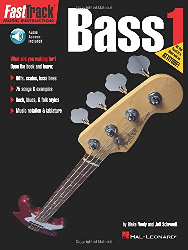 FastTrack Bass Method - Book 1 (Fasttrack Series) (Bass Playing)