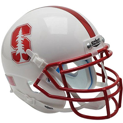 Stanford Cardinal Chrome Mask Officially Licensed XP Authentic Football Helmet