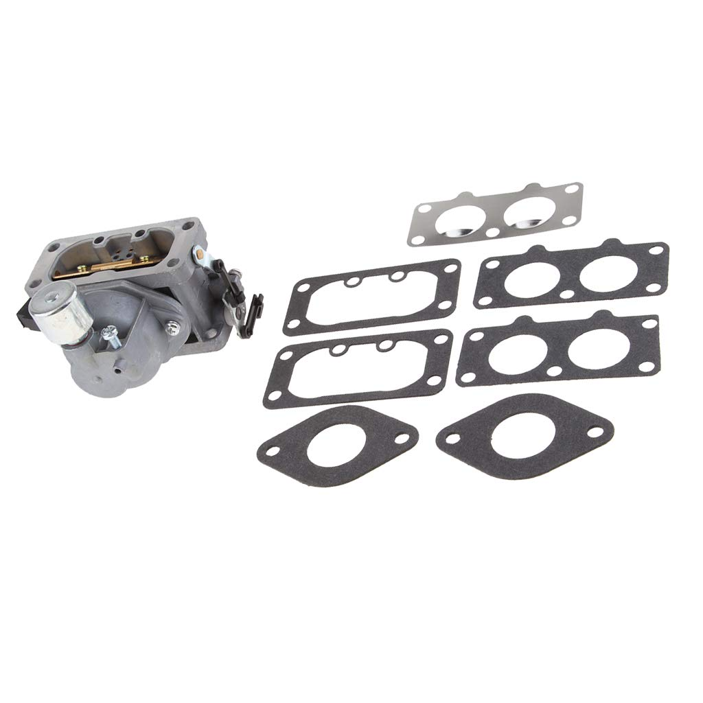 Fityle Carburetor Carb Kit with Gasket Garden Lawn Mower Parts Fits for Kawasaki FX801V Chainsaw