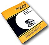 John Deere 450C Crawler Bulldozer Owners Operators Manual Jd450-C Blade Winch Jd