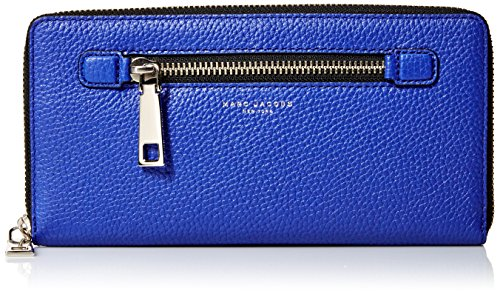 Marc Jacobs Gotham City Slgs Travel Wallet, Cobalt Blue, One Size by Marc Jacobs