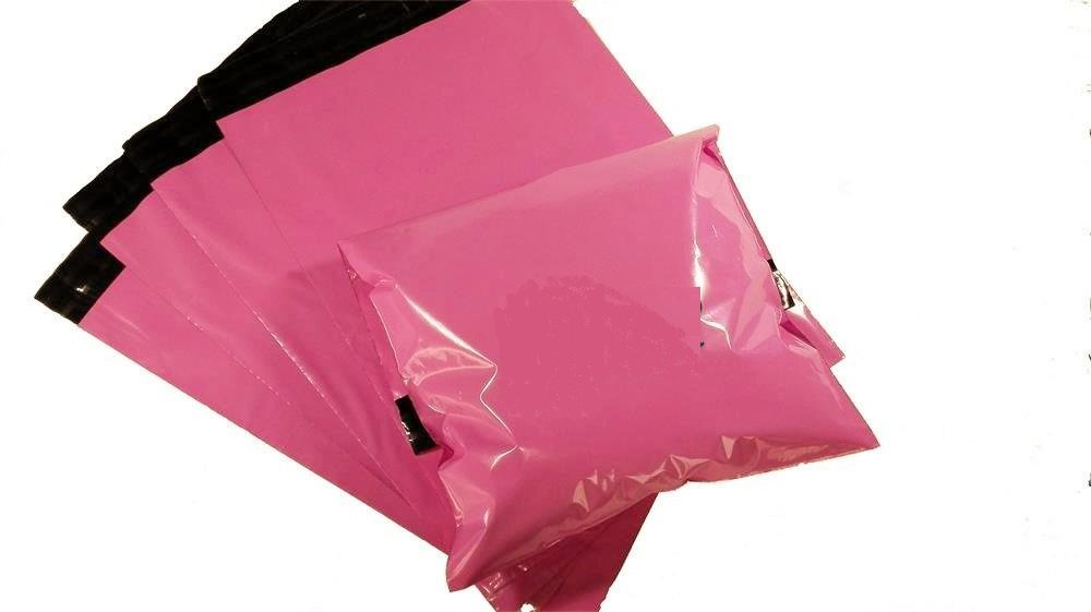 ProLine 10x13 Pink Poly Mailers Shipping Envelops Boutique Custom Bags Enhanced Durability Multipurpose Envelopes Keep Items Safe Protected 200