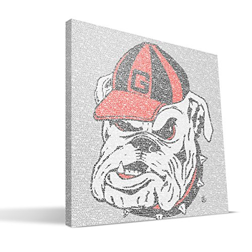 georgia bulldogs canvas - 1