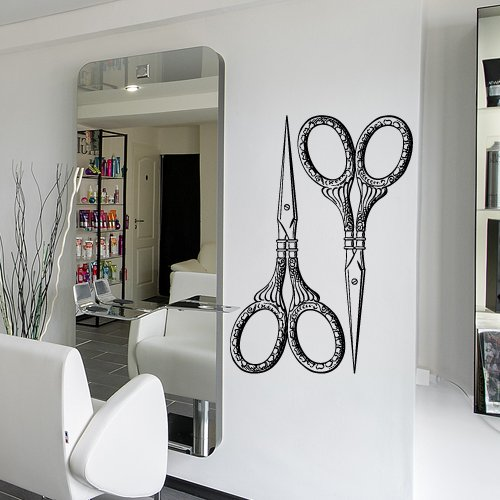 Sticker Scissors Stylist Bedroom Cosmetic product image