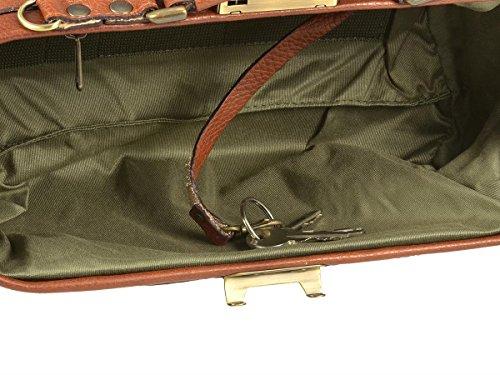 Ruitertassen, Borsa a tracolla donna Marrone cognac außen: ca. 31,0 x 14,0 x 15,0 cm