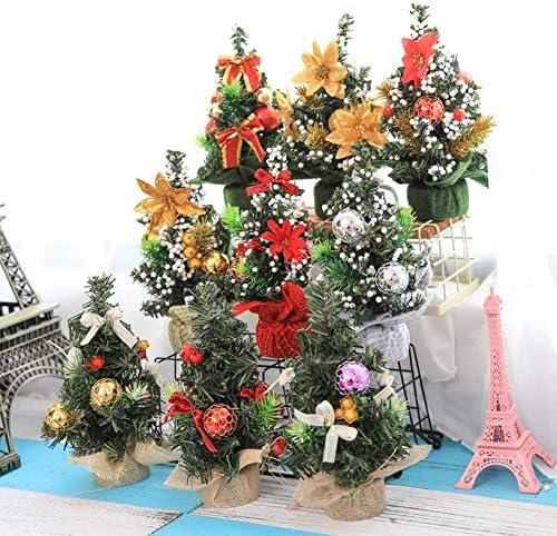 Creativo Árbol de Navidad Decoración de la mesa Vacaciones Mini ...
