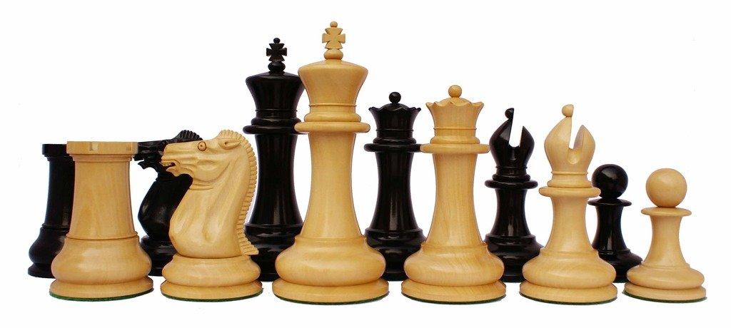 Jaques Reproduction 1870-75 Edition Staunton 4.4'' Premium Chess Pieces