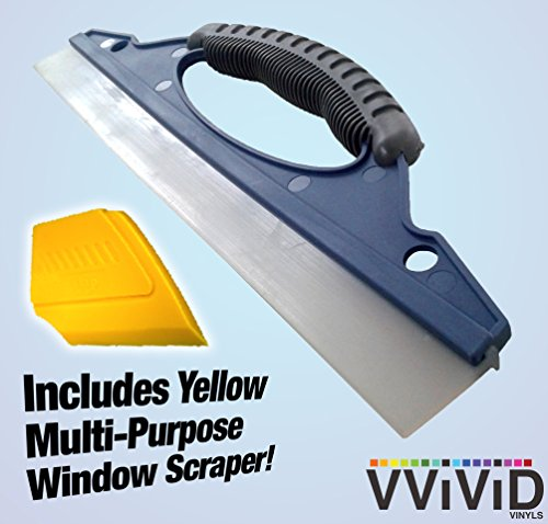 VViViD Large All-Purpose Blade Style Rubber Household 11.7