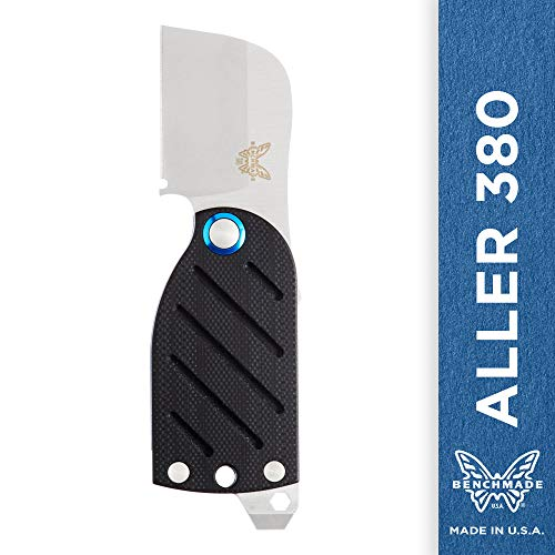 Benchmade - Aller 380, EDC Folding Knife with Screwdriver and Bottle Opener, Wharncliffe Blade, Friction Folder, Made in USA (Best Folding Knife With Screwdriver)