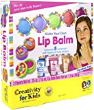 Creativity for Kids Make Your Own Lip Balm Kit - Makes 5 Lip Balms - Includes Customizable Containers and Handy Carrying Case - Ages 7 and Up