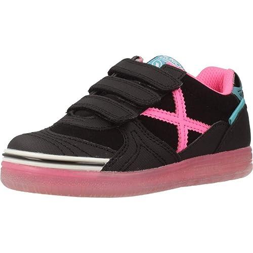 Zapatillas para niña, Color Negro, Marca MUNICH, Modelo Zapatillas para Niña MUNICH G 3 Kid VCO Glow Negro: Amazon.es: Zapatos y complementos