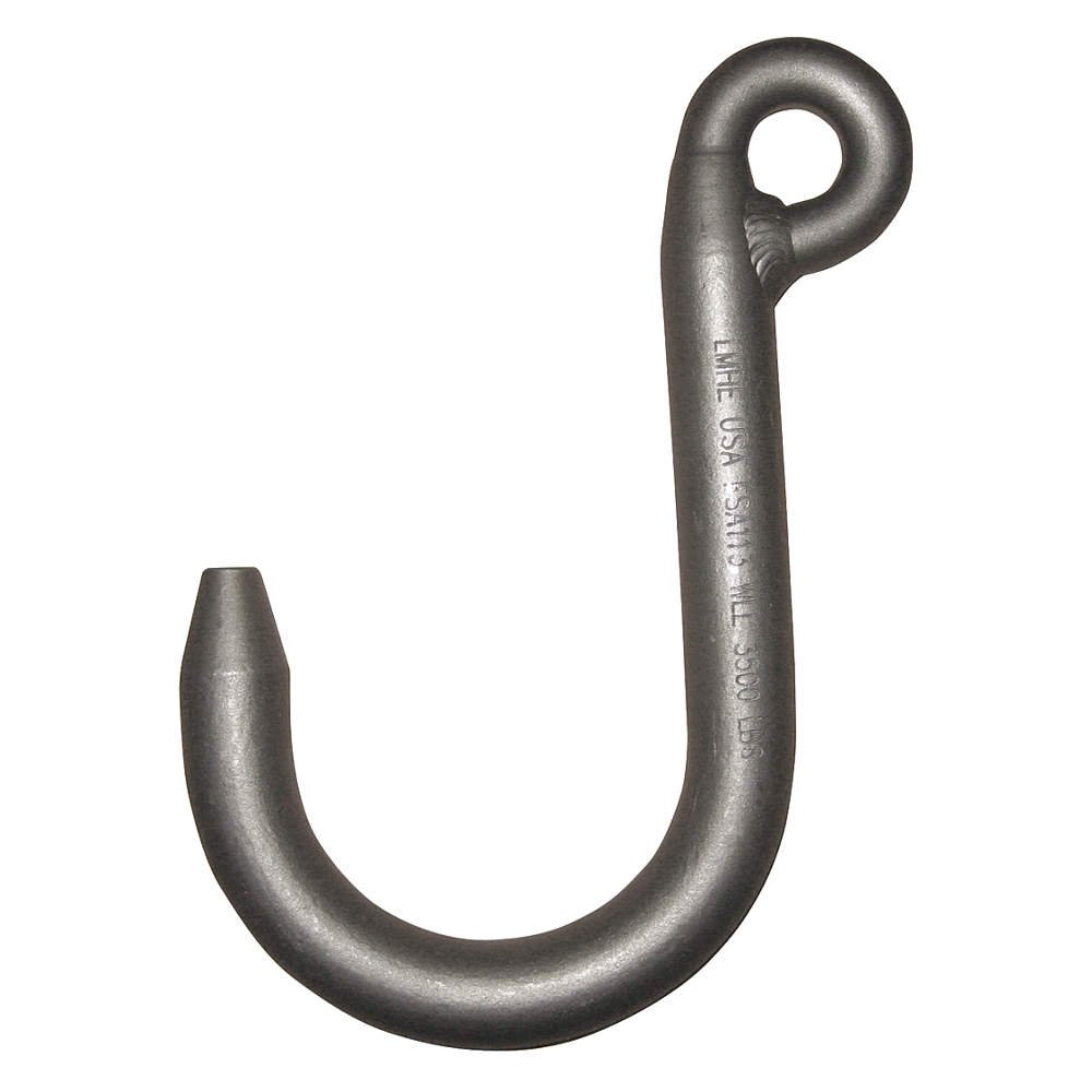 Peerless - FSA088S - Foundry Hook, 3/8 in., 2000 lb., Weld On
