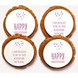 Chomp a'Lomp Cookies, Love Adventures, Beautiful Bulk Box, 12 Decorated, 12 Plain