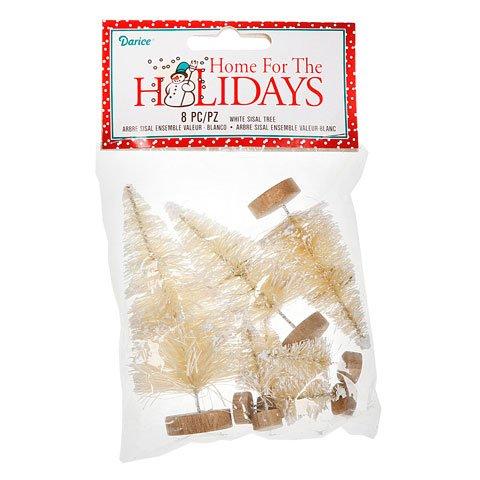 Bulk Buy  DariceDIY Crafts Value Pack White Sisal Trees ...