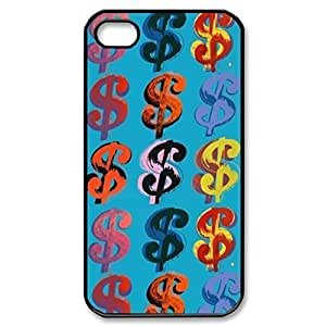 SUUER Custom andy warhol Design Personalized Custom Hard Case for iPhone 4 4s Durable Case Cover wangjiang maoyi