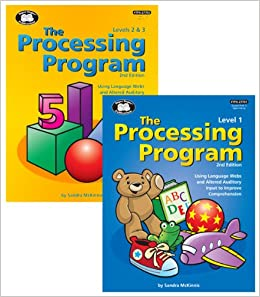 the processing program levels 1 2 3 combo sandra mckinnis