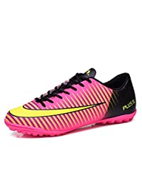 SKYMAIP Kids Soccer Shoes Men Indoor Outdoor Football Boots Athletic Turf Mundial Team Cleat Running Sport Shoes