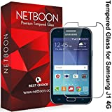 Samsung Galaxy J1 4G NETBOON Tempered Glass Screen Protector Guard - 10 Days Money back Guarantee