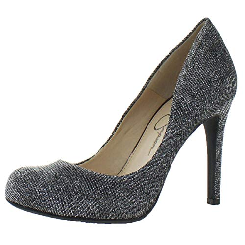 Jessica Simpson Women's Calie-Pump, Pewter Multi, 7 Medium US