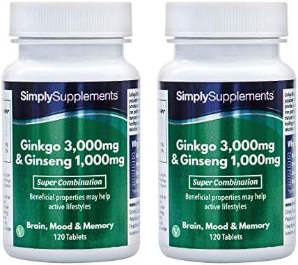 Ginkgo Biloba & Korean Ginseng Tablets (240 Tabs)
