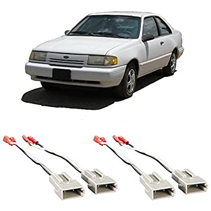 Amazon.com: Fits Ford Tempo 1989-1994 Factory Speaker ... on 2005 focus wire harness, bronco 2 radio wire harness, sony xplod wiring harness, ford stereo wiring harness,