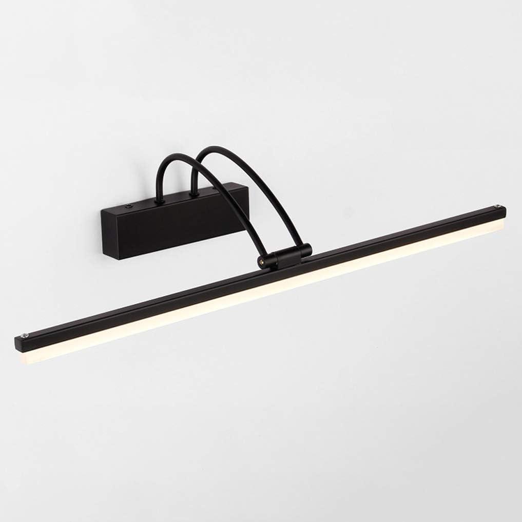 Moderne verstelbare badkamer LED-spiegellamp Metalen wandlampen Make-upverlichting Spiegelkastverlichting Warmwhitelight51cm12w