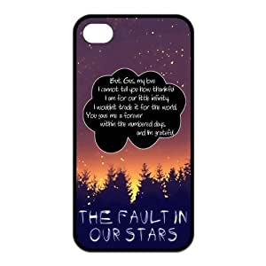 Quotes from The Fault in Our Stars Protective Rubber Cover Case for iPhone 4,iPhone 4s Cases