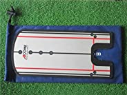 A99 Golf Putting Alignment Mirror Improve Your Putting Putter Posture Corrector Training Aid Practice Trainer