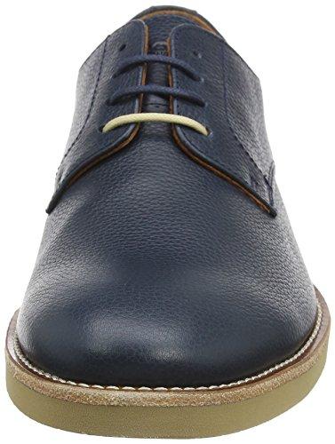 Hackett Uomini Londra Blucher Paterson Derby Lace Up Stringata Blu (navy 595)