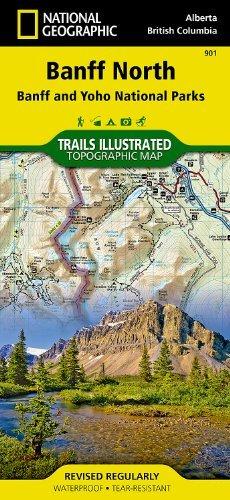 ic Maps - Tra Banff North [Banff and Yoho National Parks] (Trails Illustrated) (2012) (Yoho National Park Trails)