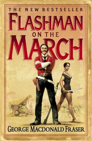 book cover of Flashman On the March