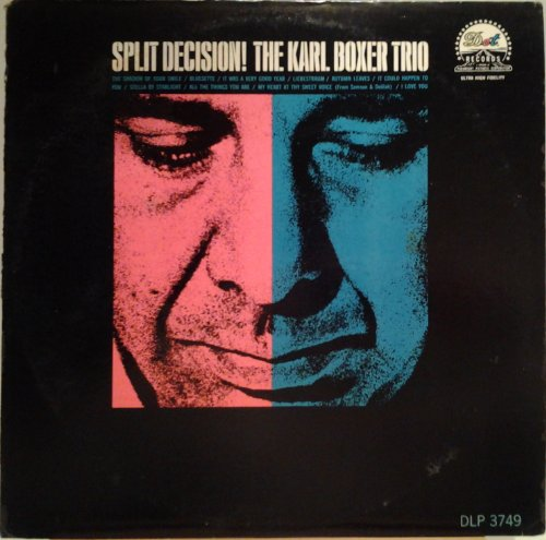 Split Decision! The Karl Boxer Trio Vinyl Lp (Dot Boxer)