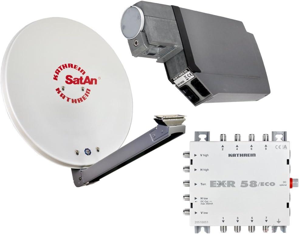 HD Satélite (Antena Parabólica de Kathrein para 8 conexiones ...