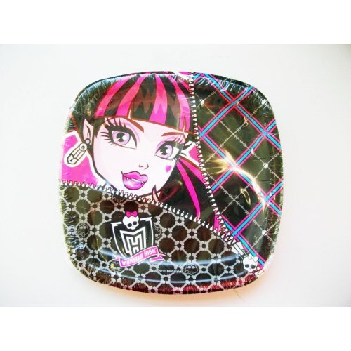 Designware Monster High Small Paper Pocket Plates
