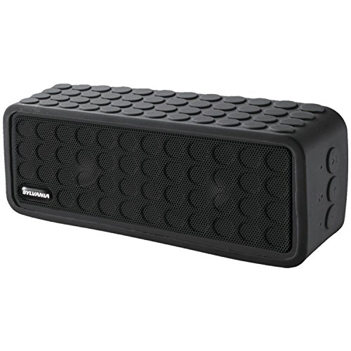 sylvania-sp258-black-rugged-bluetooth-portable-speaker