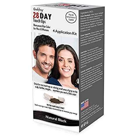 Godefroy 28 Day Touch Ups for Root Touch Up on Small Areas, Medium Brown, 1 Ounce